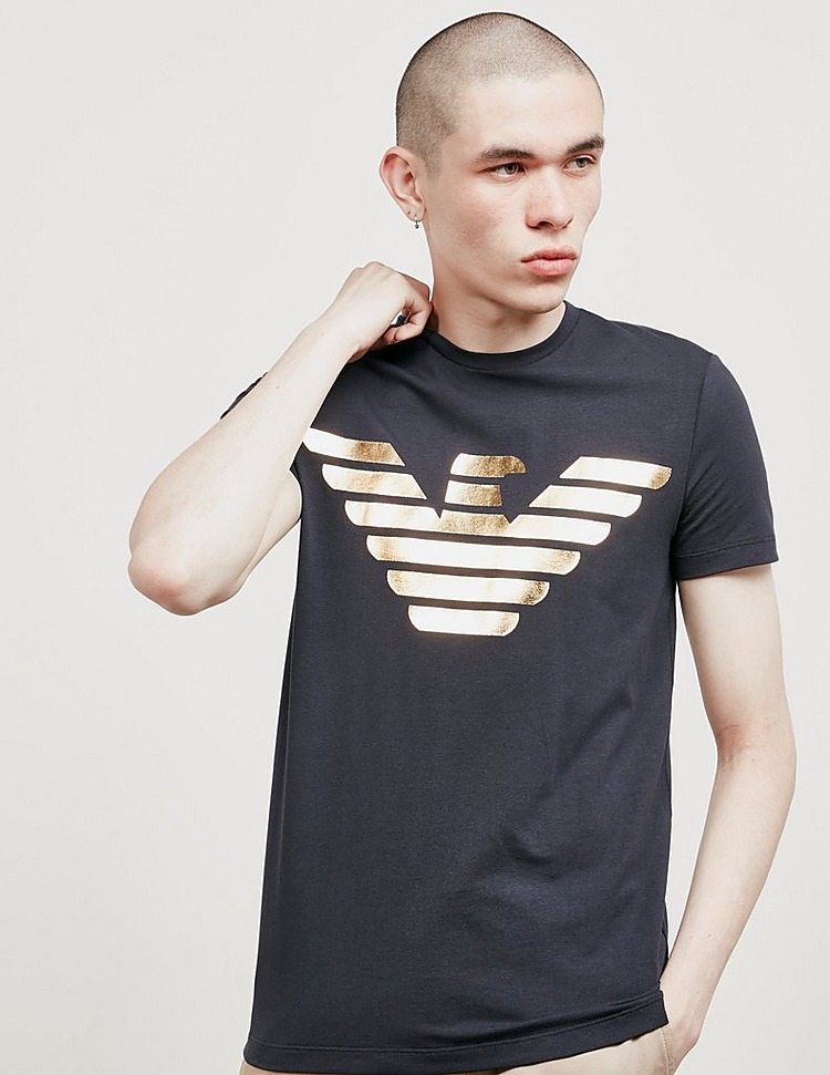 Emporio Armani Foil Eagle Short Sleeve T-Shirt