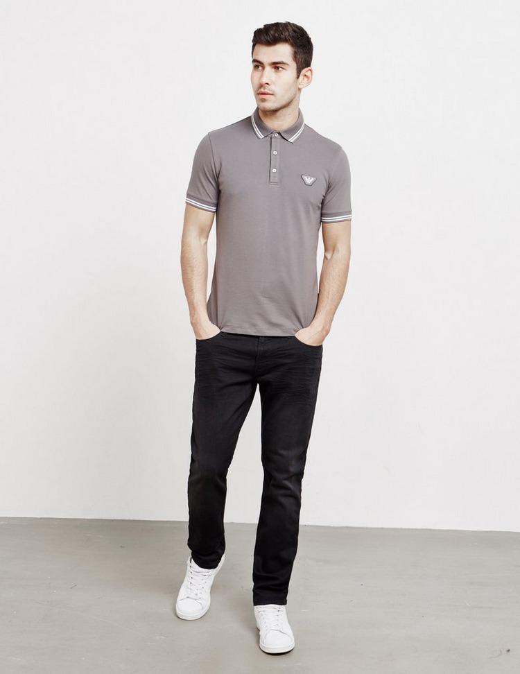 Emporio Armani Slim Crinkle Jeans