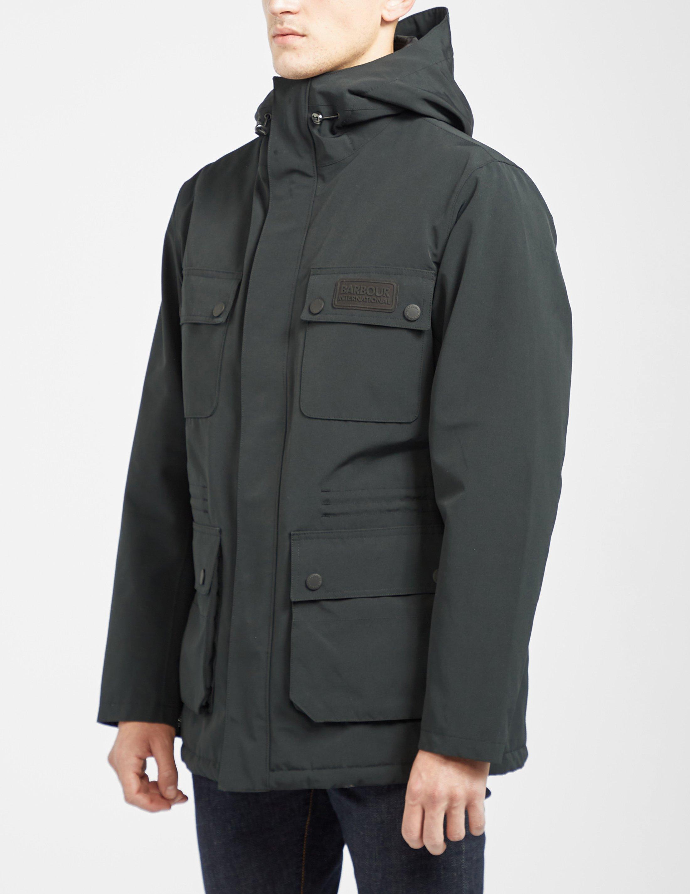 barbour endo jacket