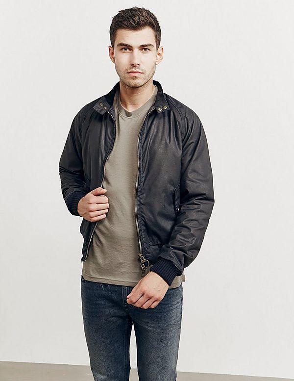 Barbour International x Steve McQueen Merchant Wax Jacket