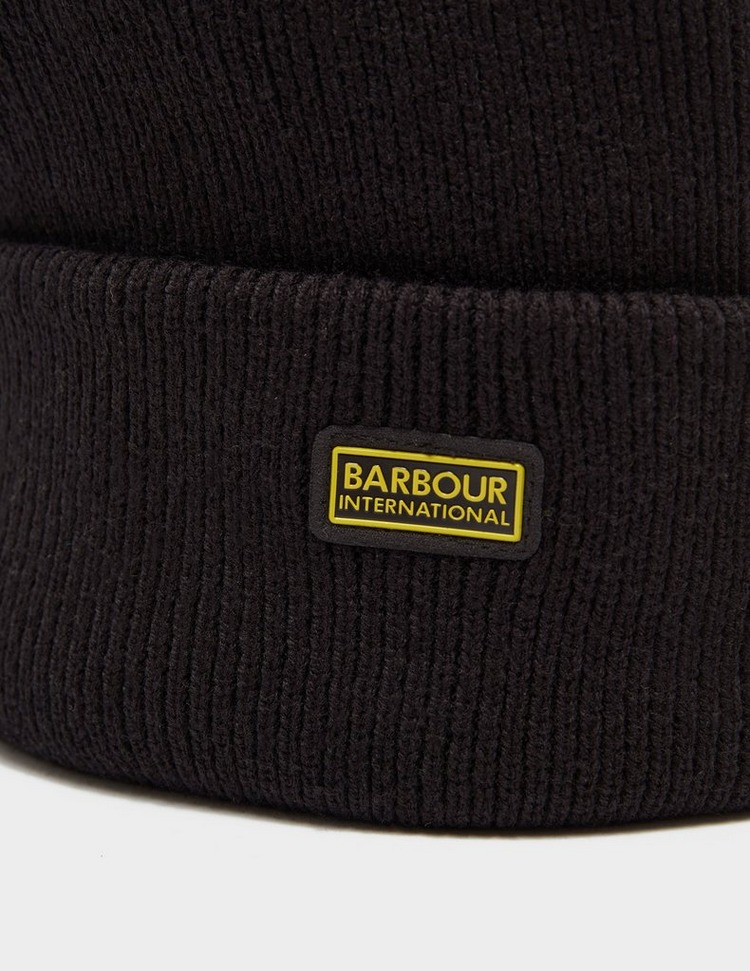 Barbour International Logo Beanie