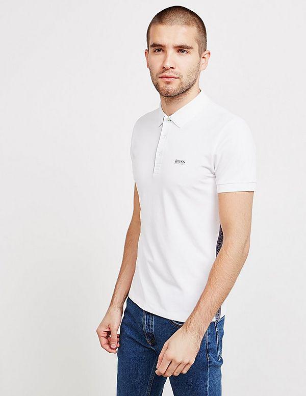 cc003c70a BOSS Paule Panel Short Sleeve Polo Shirt