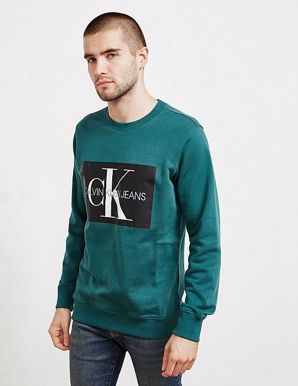 667dcbbf2 Calvin Klein Monogram Box Logo Sweatshirt