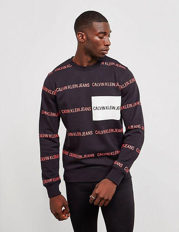 Calvin Klein All Over Print Sweatshirt