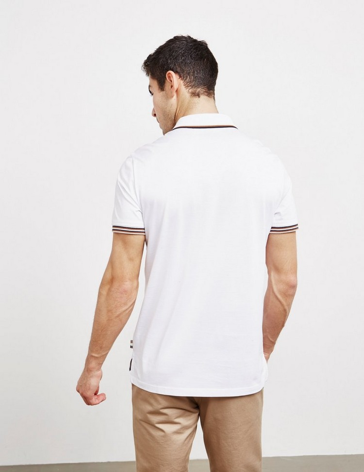 Aquascutum Tipped Collar Short Sleeve Polo Shirt