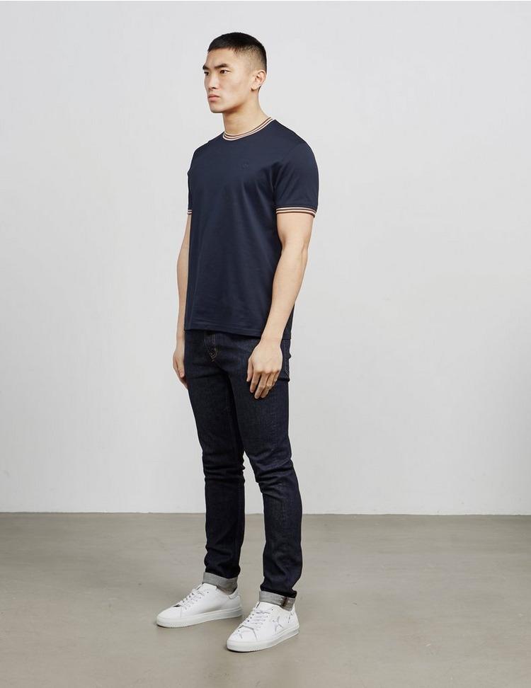 Aquascutum Mercer Short Sleeve Tipped T-Shirt