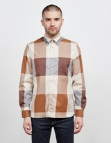 Aquascutum Henlake Large Check Long Sleeve Shirt - Exclusive