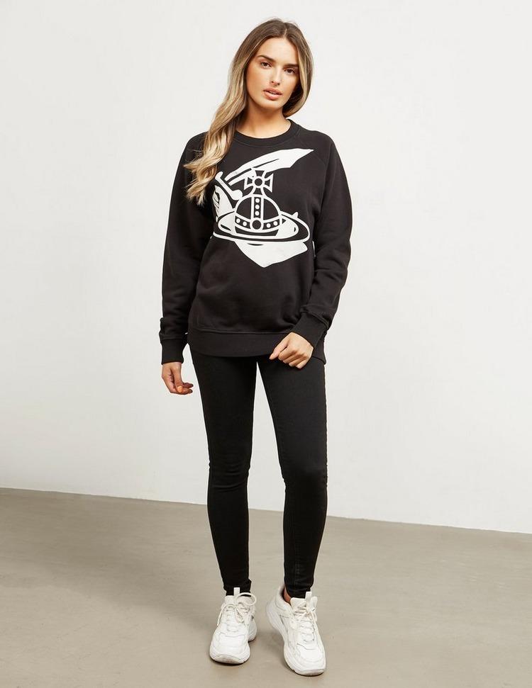 Vivienne Westwood Anglomania Classic Orb Sweatshirt