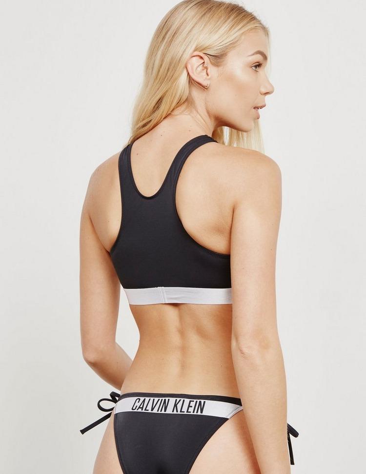 Calvin Klein Swim Racer Bikini Top