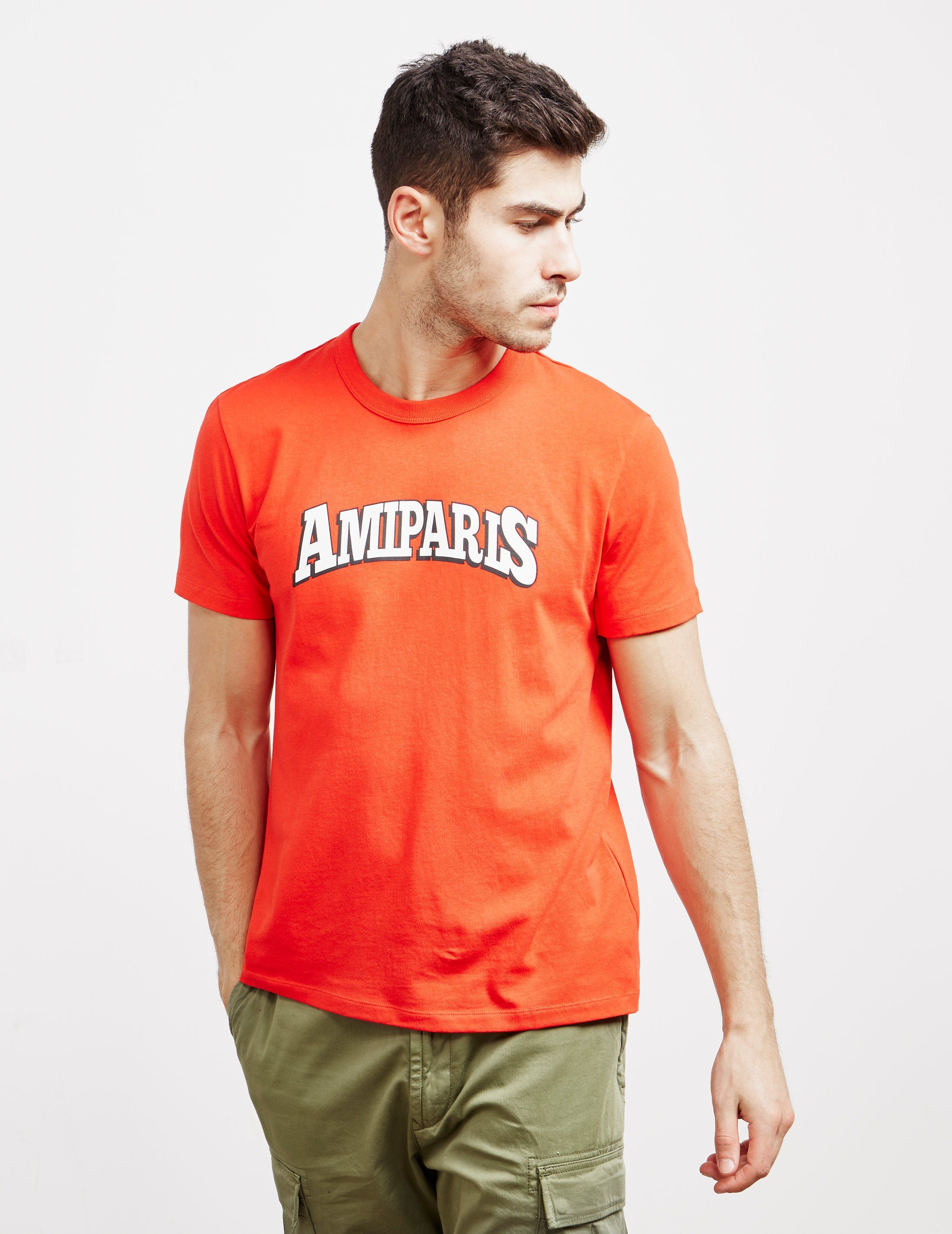 AMI Paris College Logo T-Shirt