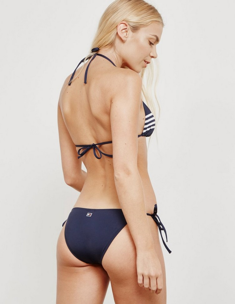 Tommy Hilfiger Swim String Triangle Bikini Top - Online Exclusive