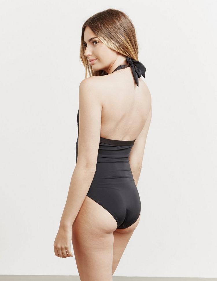Tommy Hilfiger Swim Halterneck Swimming Costume - Online Exclusive