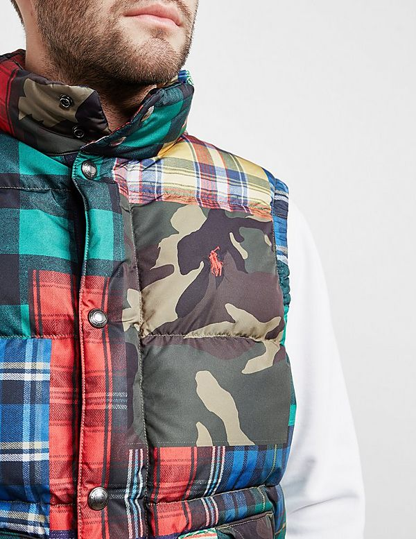 Polo Ralph Lauren Patch Gilet - Online Exclusive