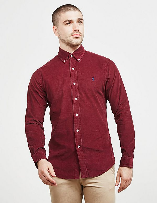 c31284007a Polo Ralph Lauren Cord Slim Fit Long Sleeve Shirt | Tessuti