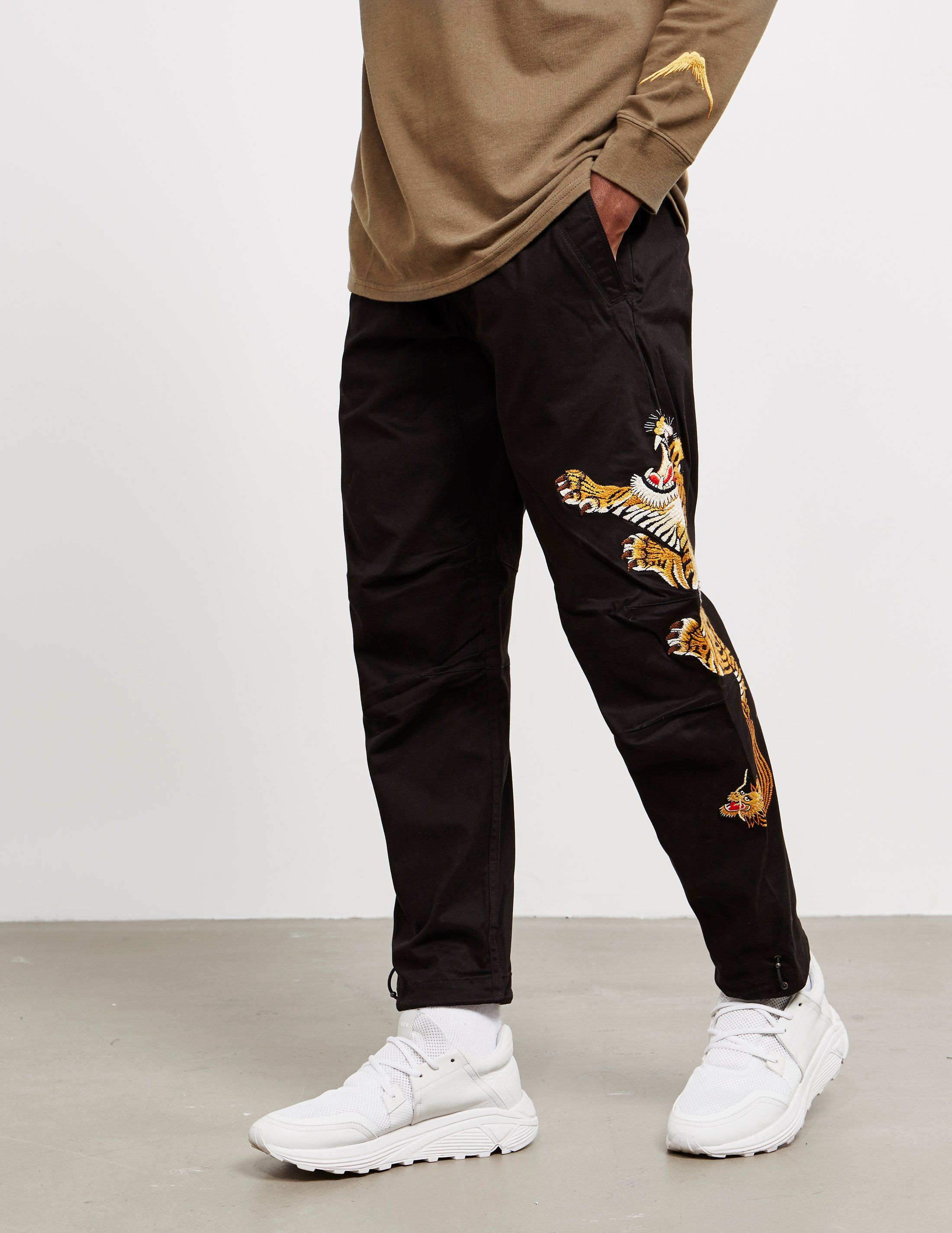 Maharishi Tiger Woven Track Pants - Online Exclusive
