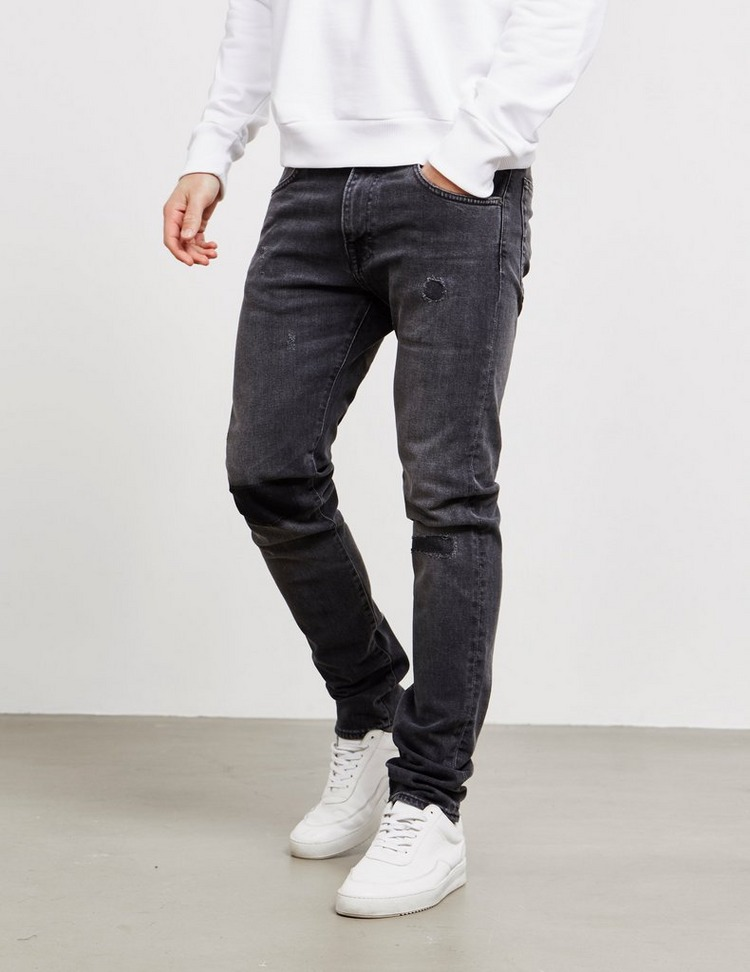 Edwin ED85 Power Distressed Slim Tapered Jeans