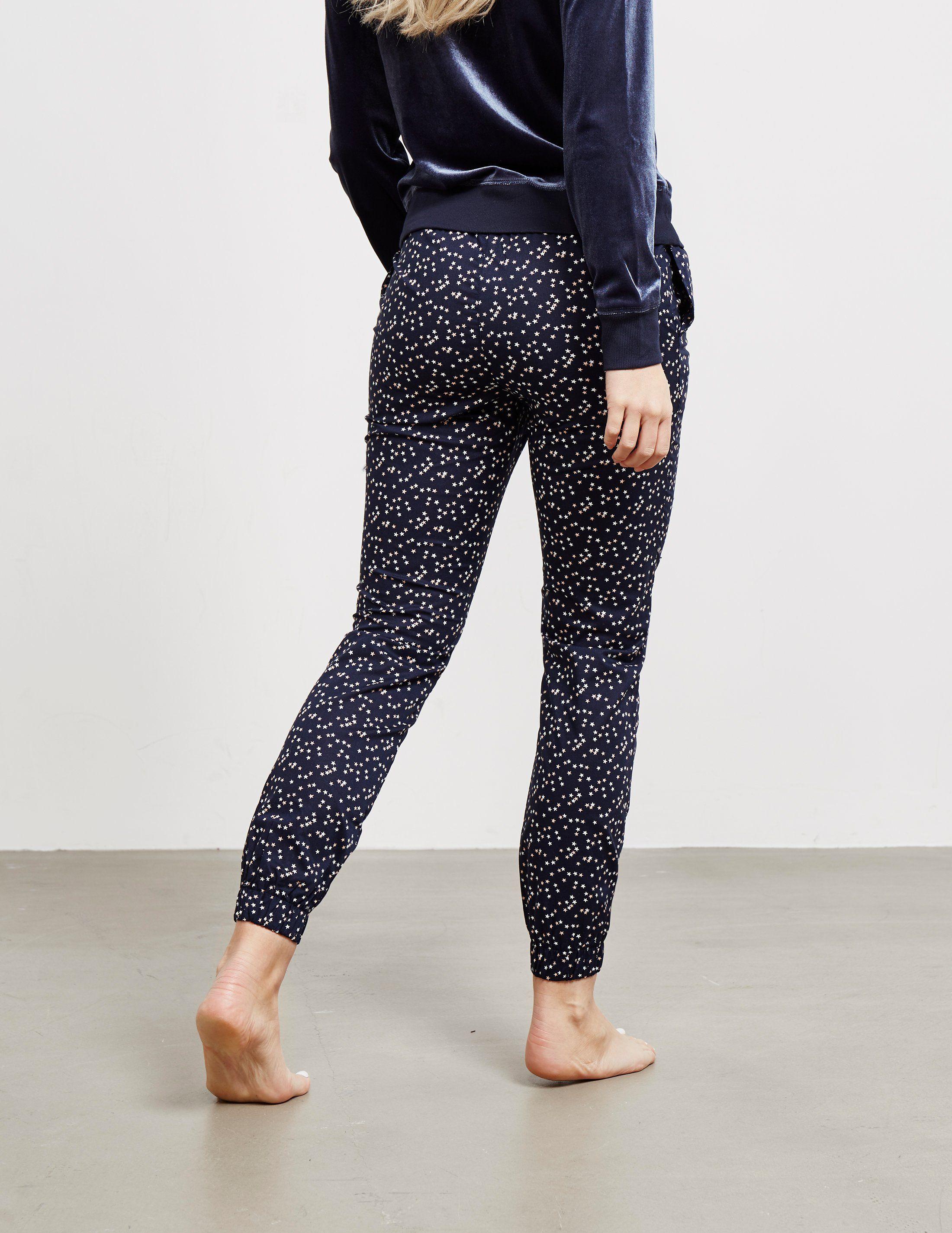 Calvin Klein Underwear Star Print Cuffed Fleece Pants - Online Exclusive