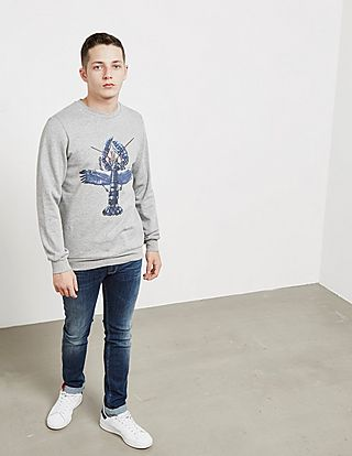 Lanvin Lobster Sweatshirt