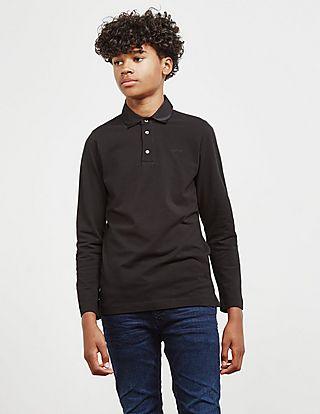 Lanvin Long Sleeve Polo Shirt