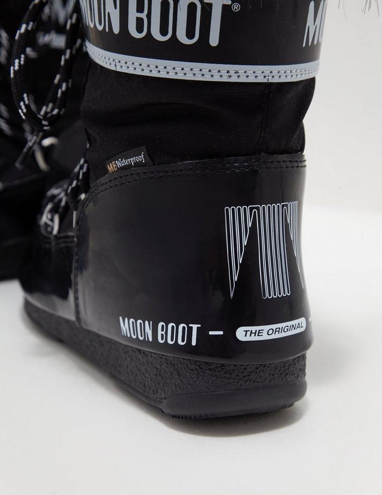 Moon Boot Short Fur Boots