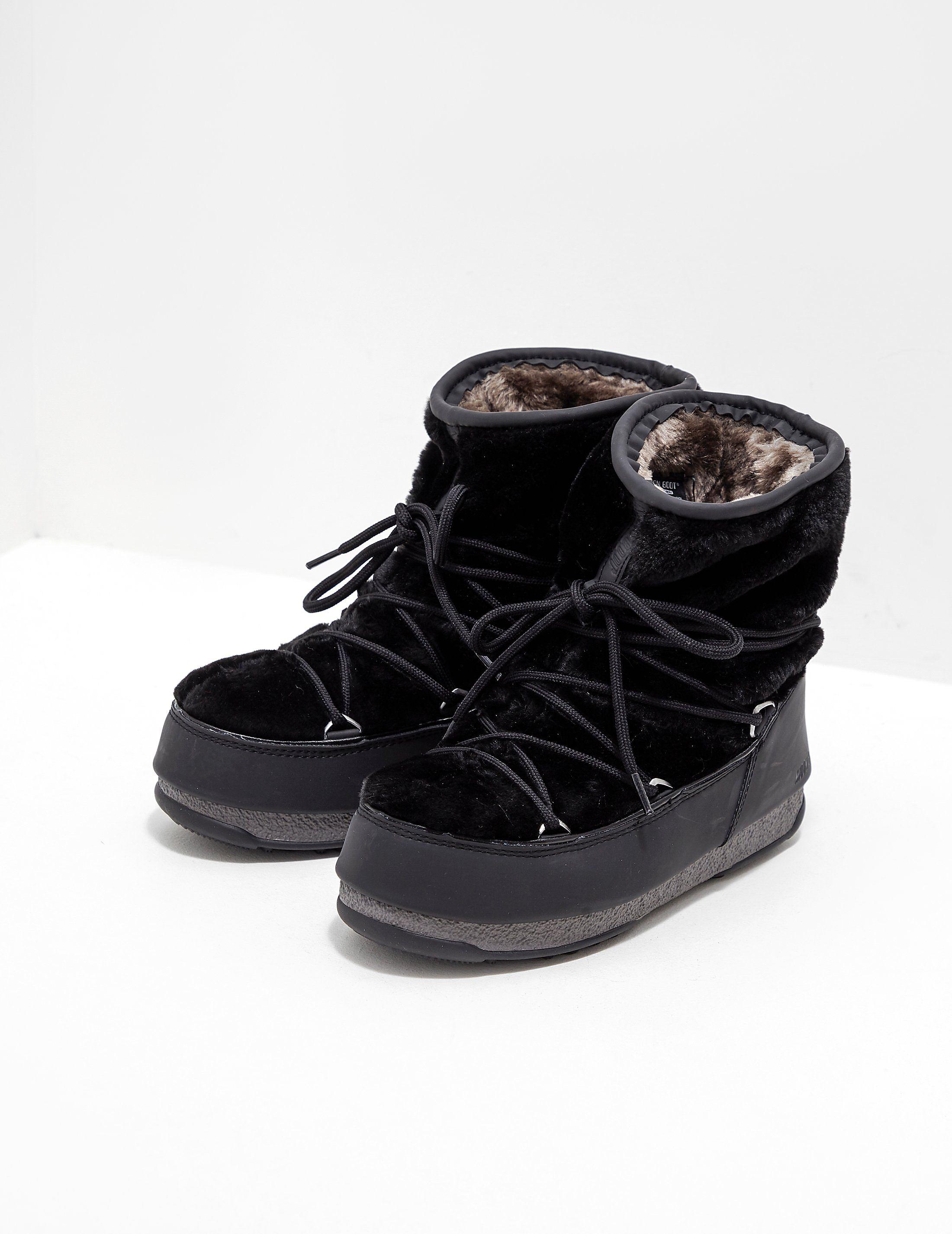 buy popular 19739 e1a07 Moon Boot Monaco Short Boots   Tessuti