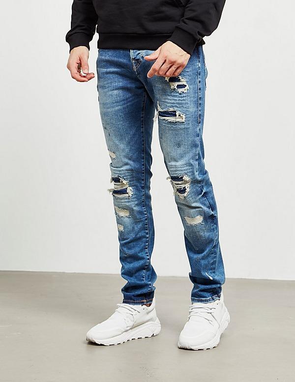 True Religion Rocco Biker Jeans