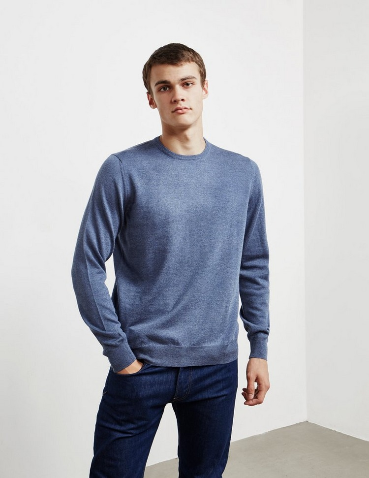 Gran Sasso Crew Neck Knit Jumper - Online Exclusive