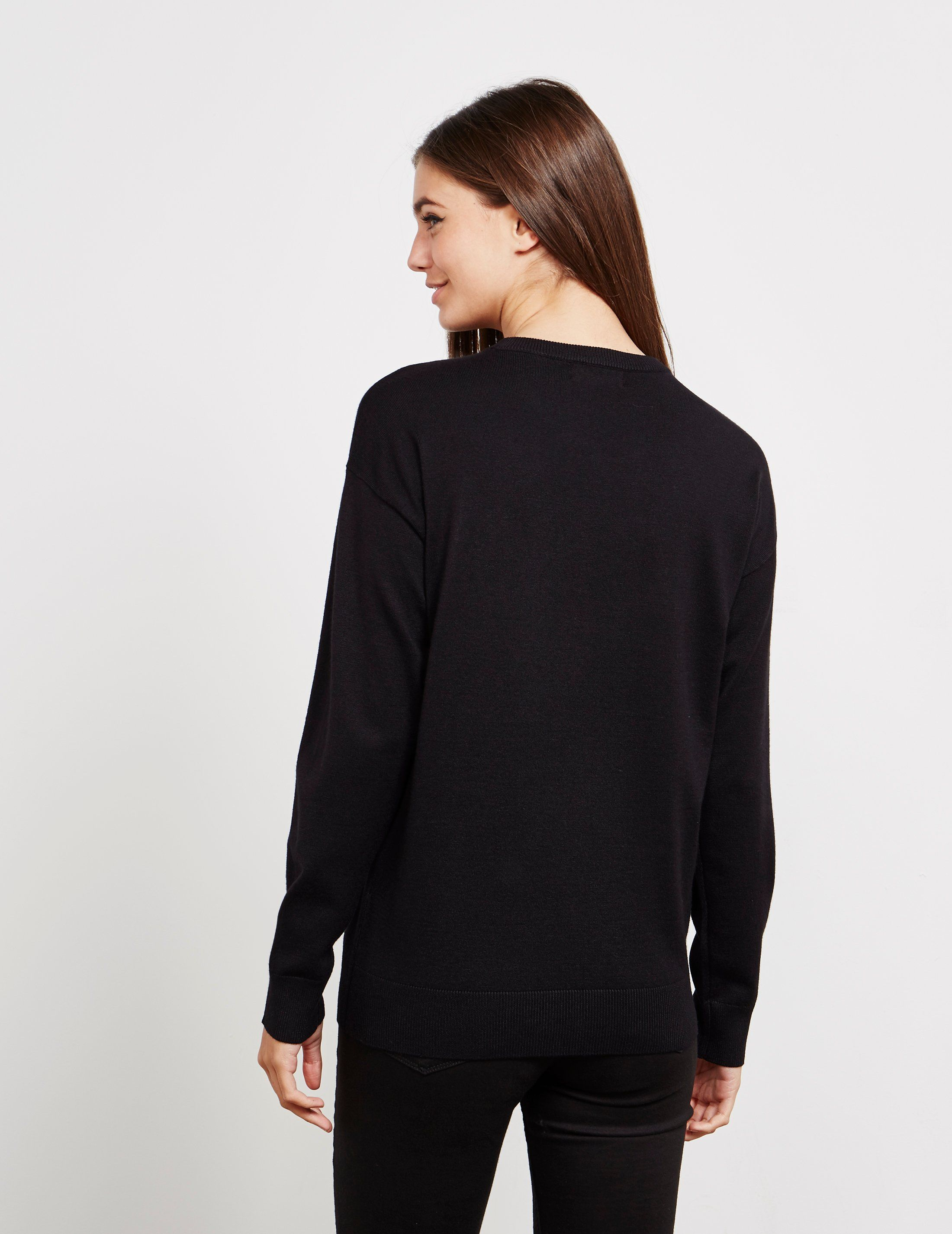 DKNY Heatset Long Sleeve Jumper