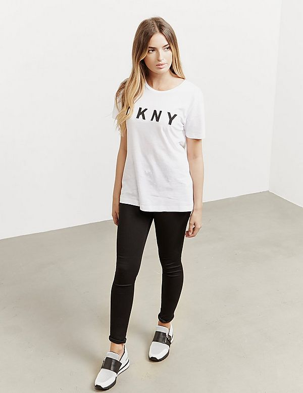 DKNY Logo Short Sleeve T-Shirt