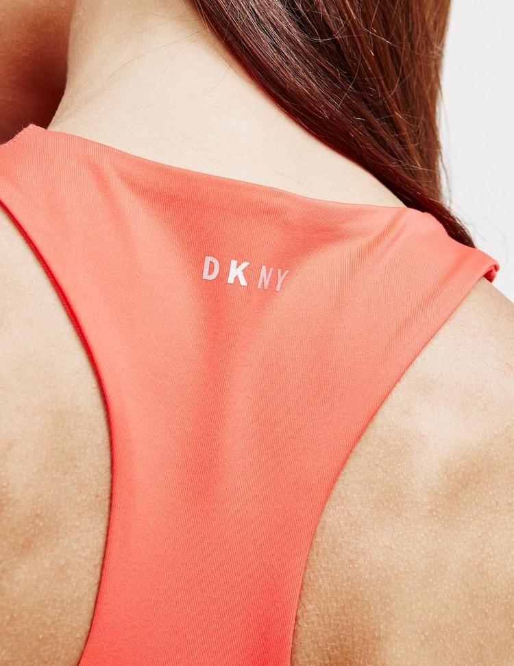 DKNY Side Logo Crop Top