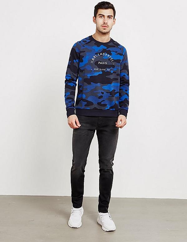 Karl Lagerfeld Camouflage Sweatshirt - Online Exclusive