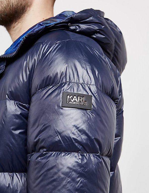 Karl Lagerfeld Camouflage Down Jacket