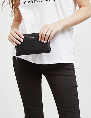 Karl Lagerfeld Zip Around Purse