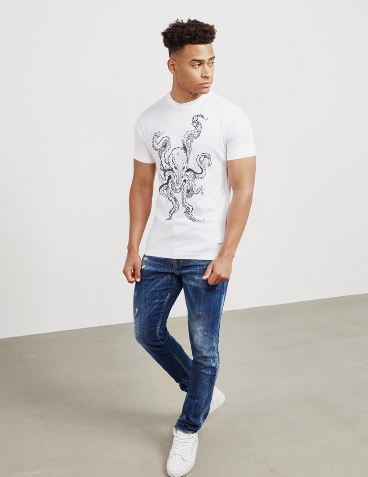 Dimoral Octopus Short Sleeve T-Shirt