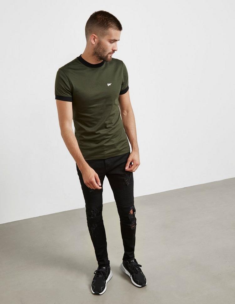 Dimoral Basic Short Sleeve T-Shirt