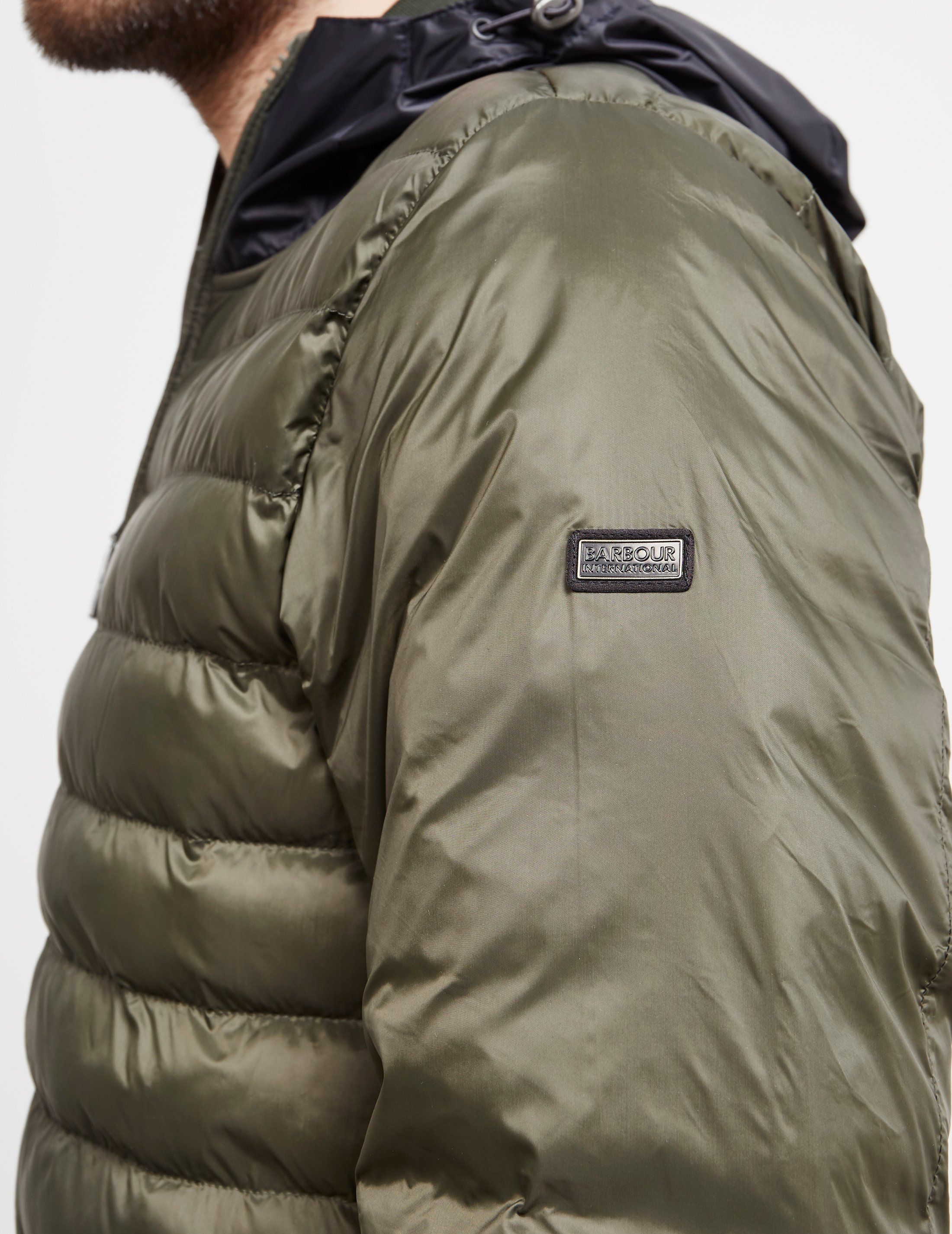 Barbour International Asphalt Quilted Jacket