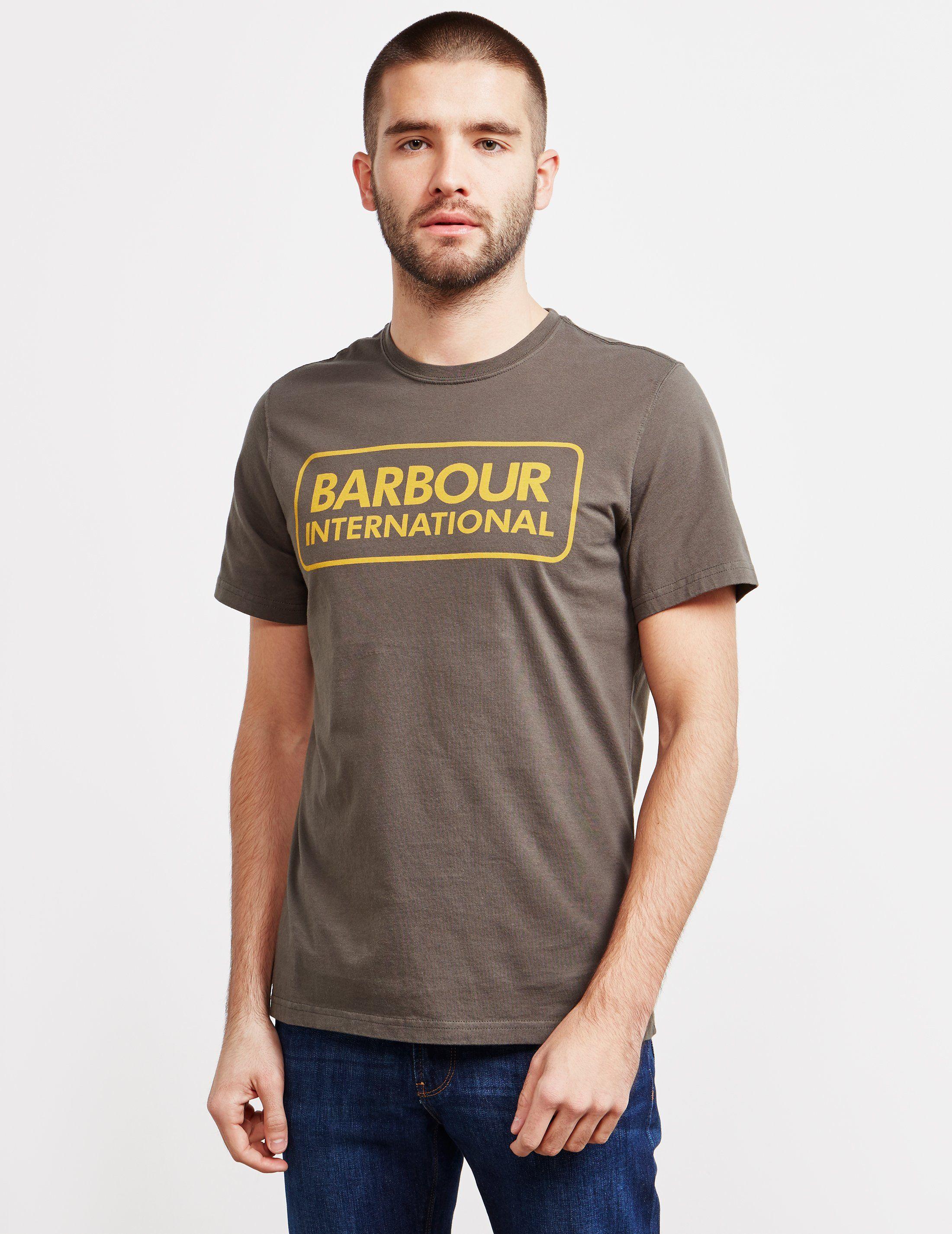 Barbour International Logo Short Sleeve T-Shirt