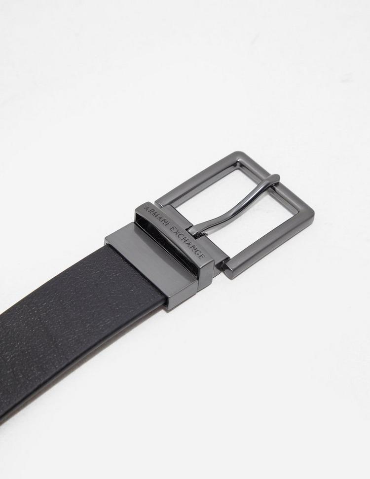 Armani Exchange Core Leather Belt