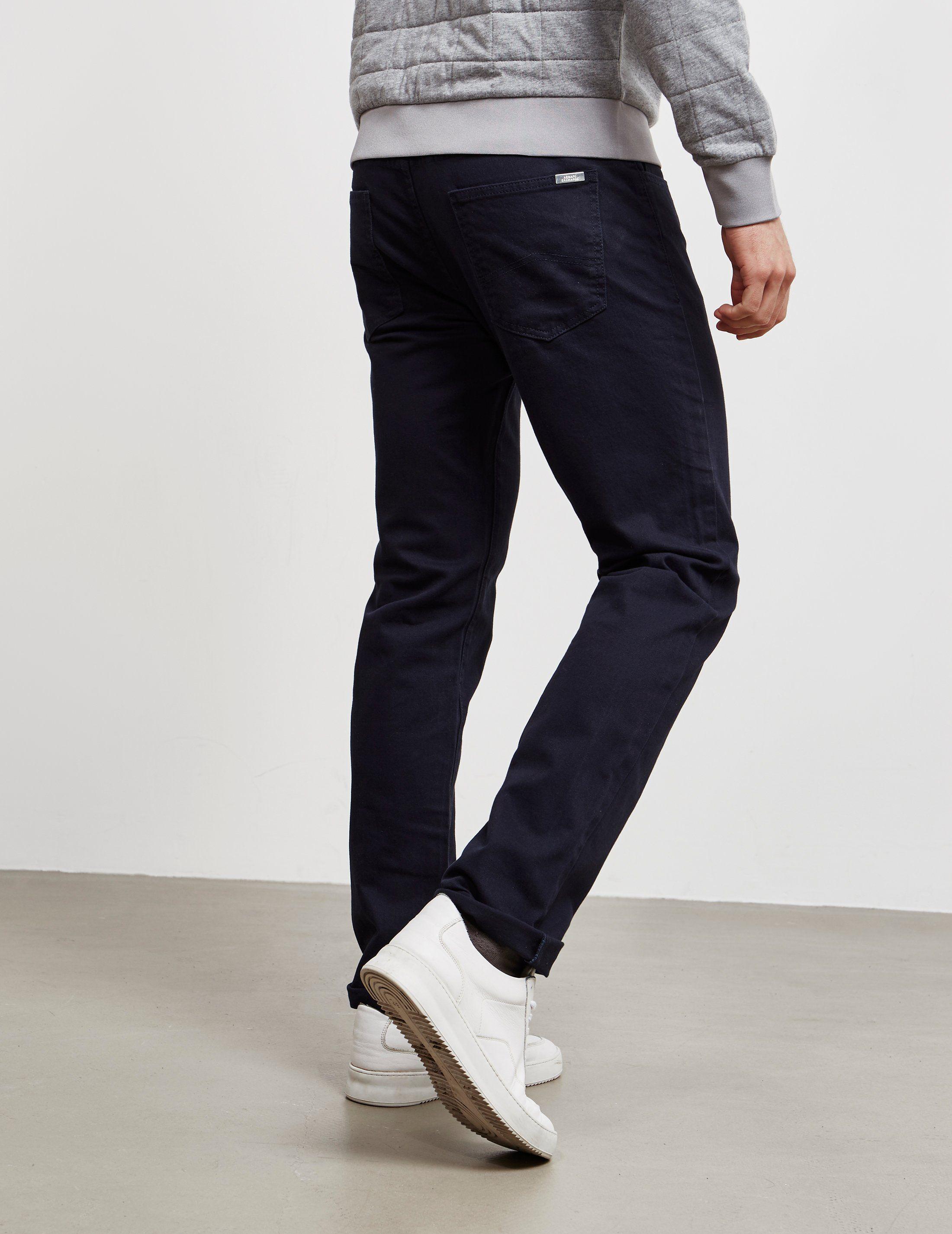 Armani Exchange Straight Basic Jeans