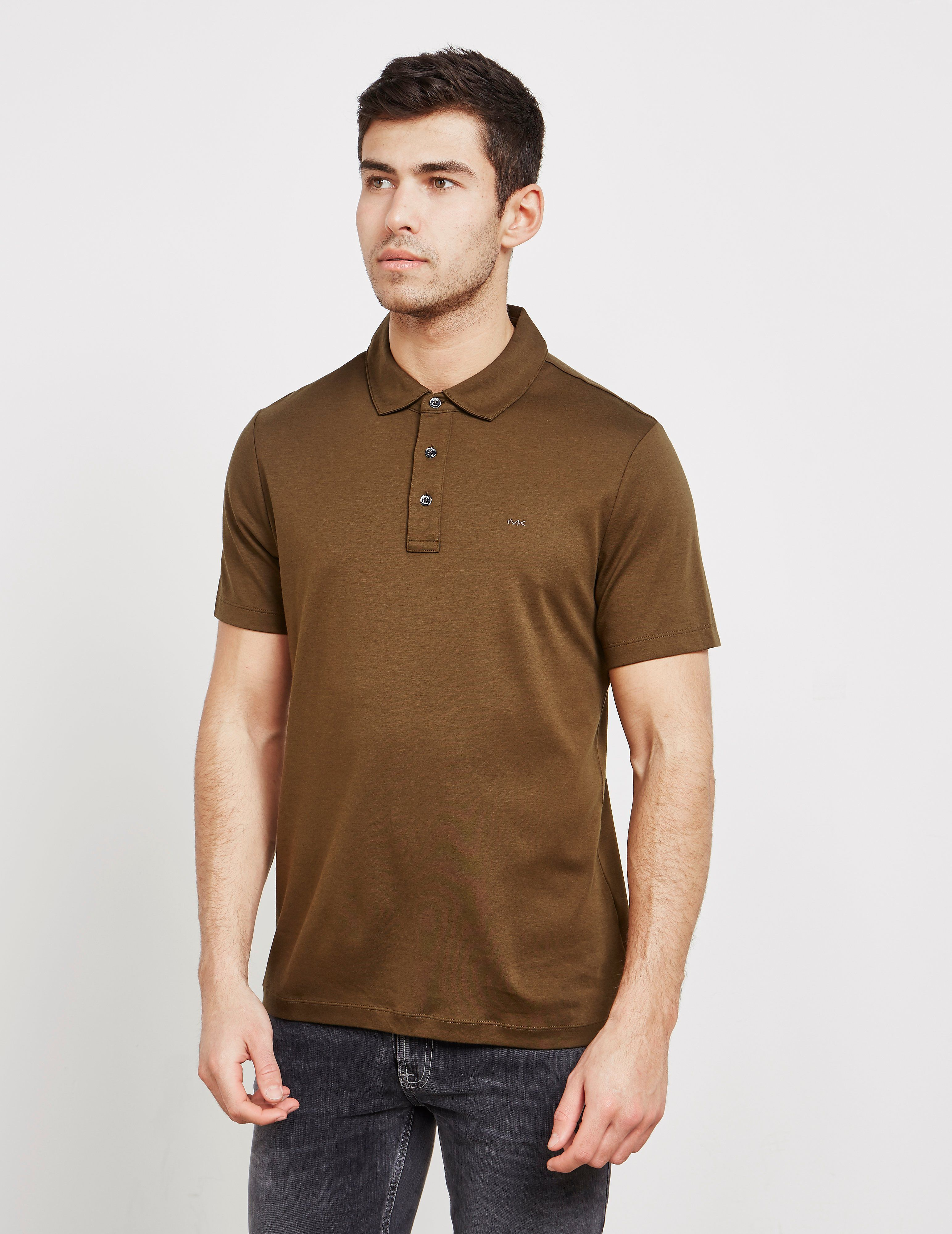 ffb1b168 Michael Kors Sleek Short Sleeve Polo Shirt   Tessuti