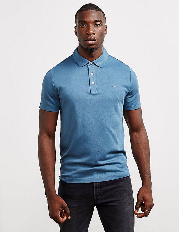 1e4179e8 Michael Kors Sleek Short Sleeve Polo Shirt | Tessuti