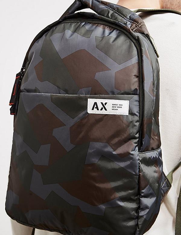 Armani Exchange Camouflage Backpack