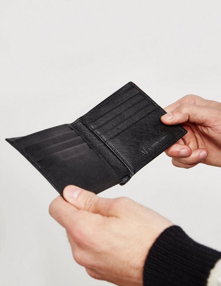 Armani Exchange Saffiano Wallet