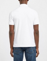 Armani Exchange Nylon Short Sleeve Polo Shirt