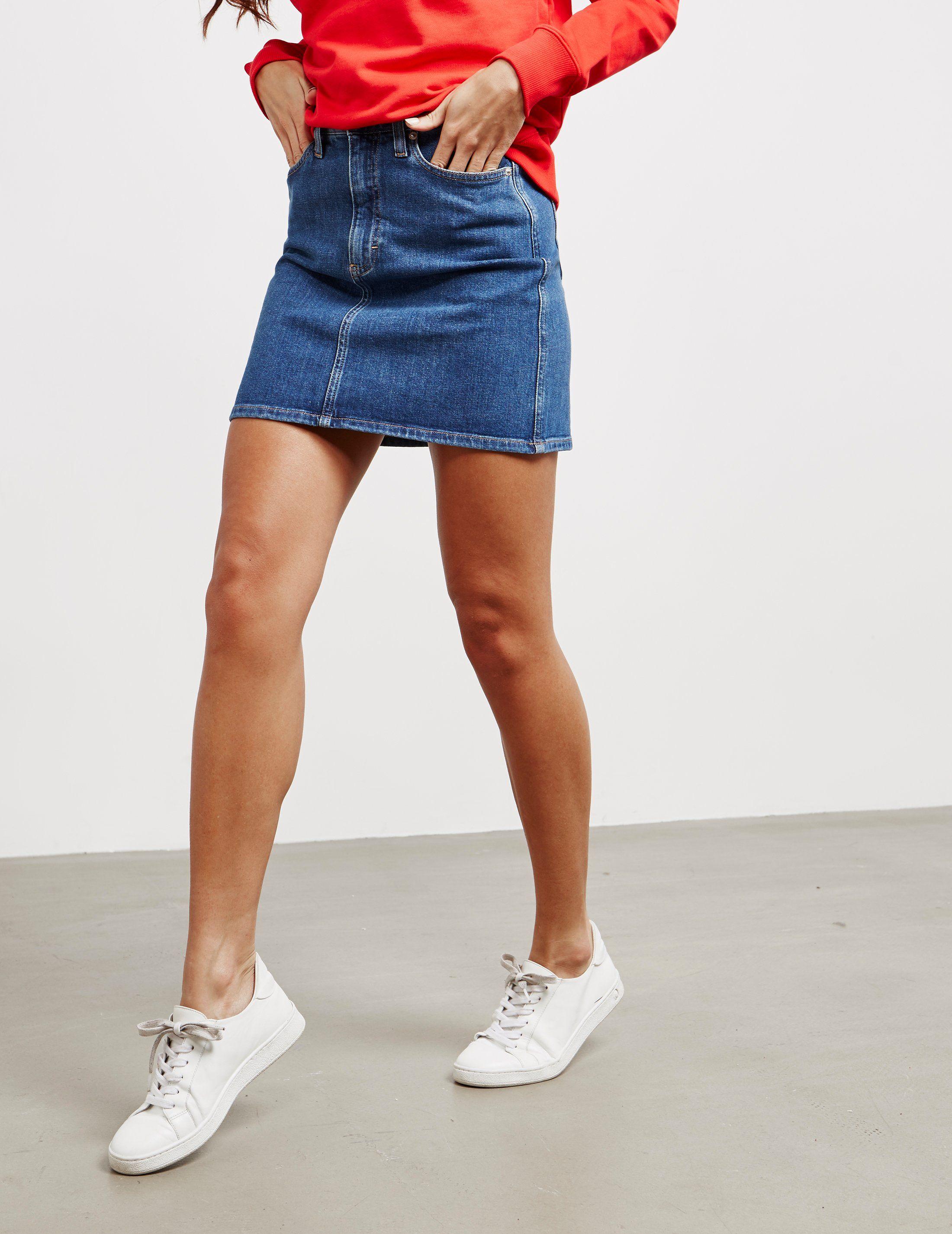 Calvin Klein Jeans Denim Mini Skirt