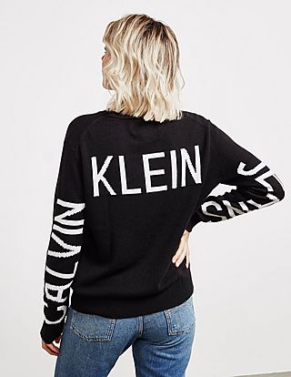 Calvin Klein Jeans Institutional Back Logo Jumper