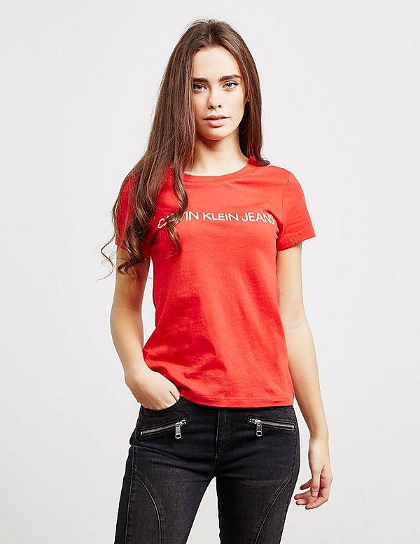 c543058c70 Calvin Klein Jeans Institutional Short Sleeve T-Shirt | Tessuti