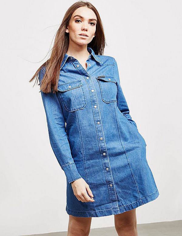 Calvin Klein Jeans Shirt Dress