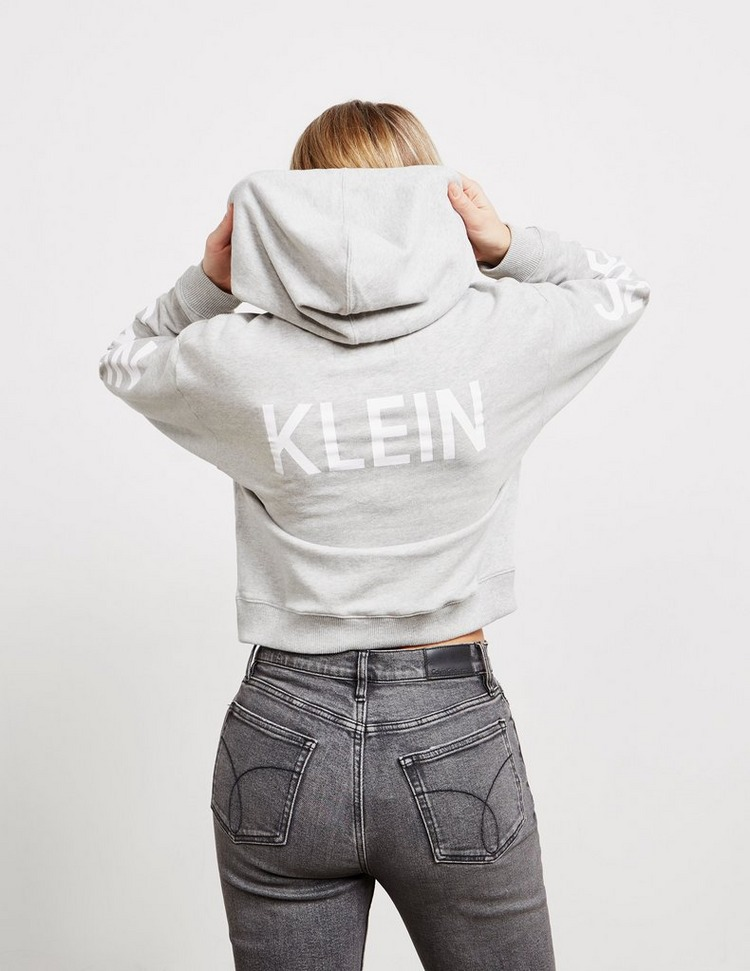 Calvin Klein Jeans Institutional Cropped Hoodie