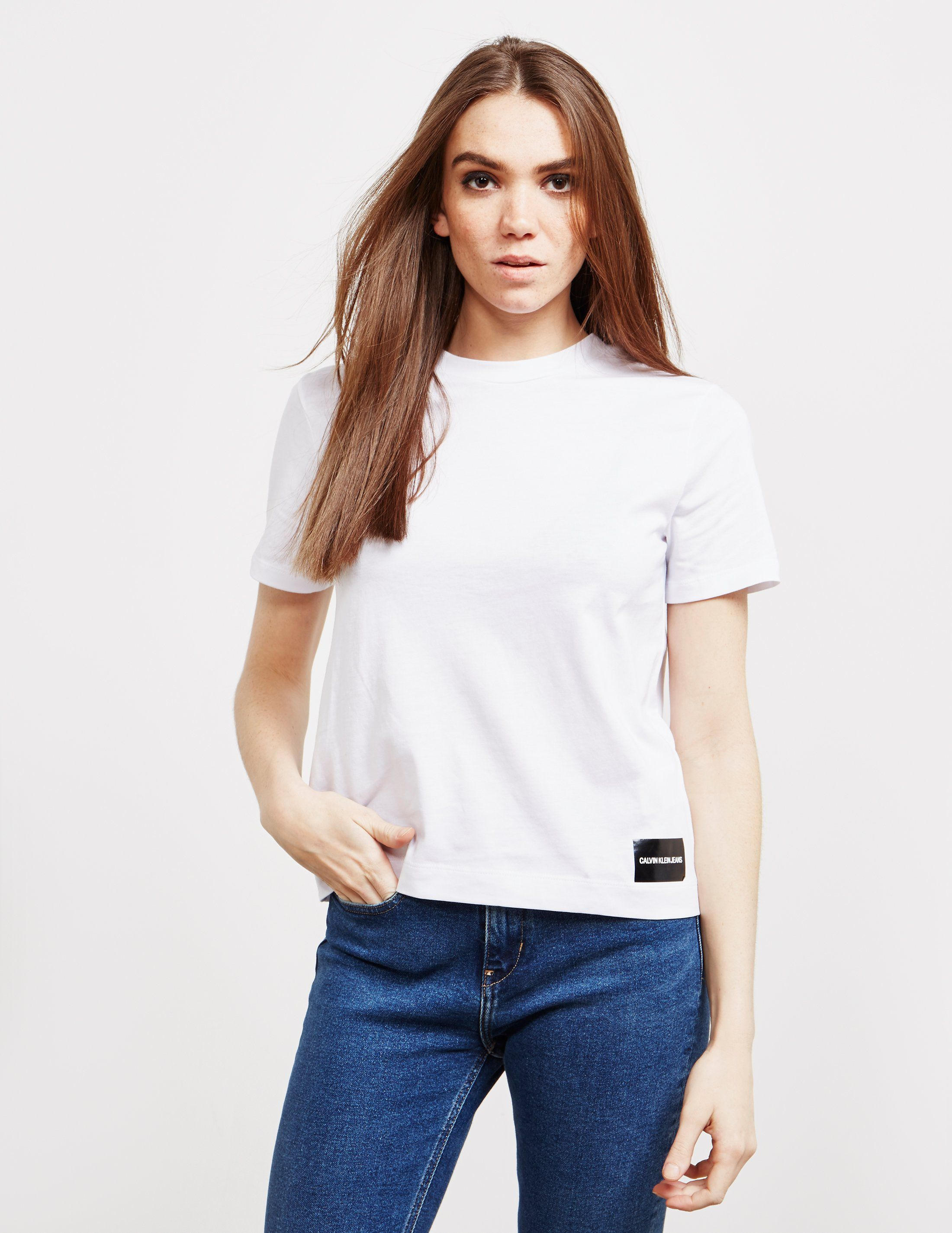 Calvin Klein Jeans Core Fit Short Sleeve T-Shirt